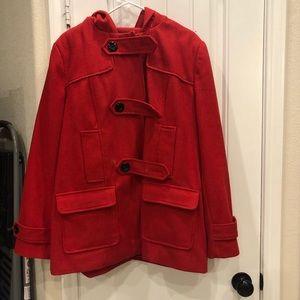 Red Peacoat